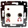 КР-02 розетка для подключения кнопок для лежачих больных